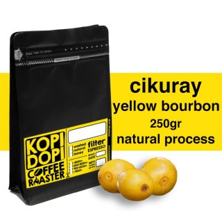 Kopi Arabika Garut Cikuray Yellow Bourbon Natural