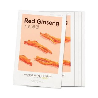 Missha Airy Fit Mask Red Ginseng