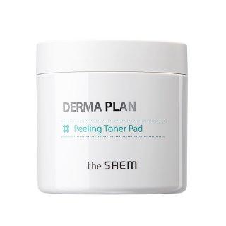 The Saem Derma Plan Peeling Toner Pad