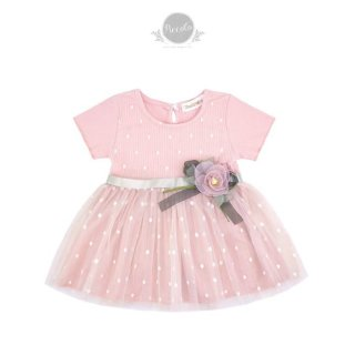 Bobora Dress Anak Perempuan Cartoon Printed Import