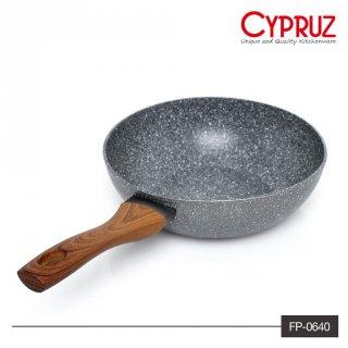 Cypruz Fry Wok Marble Series 20cm FP-0640