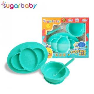 Sugar Baby Healthy Silicone Feeding Set Isi 3 Pcs
