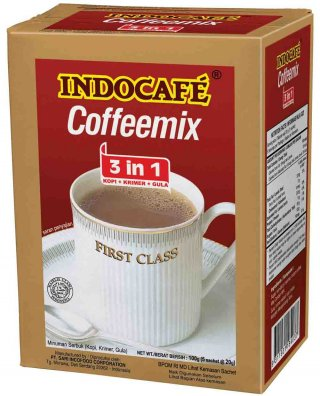 Indocafe Coffeemix 3 in 1 - 10 x 20 gram