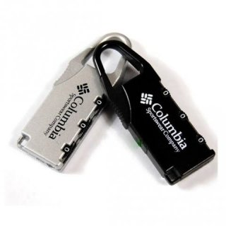Gembok Koper Metal Columbia Anti Theft Password Code Lock
