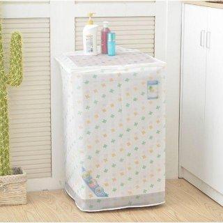 Sarung Penutup Mesin Cuci Buka Atas Cover Top Loading Peva F241