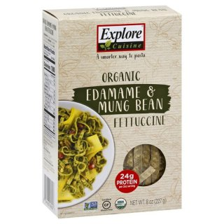 Organic Edamame and Mung Bean Fettuccine Explore Cuisine
