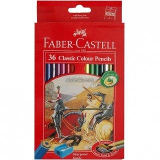 Pensil Warna Faber Castell 36 Warna