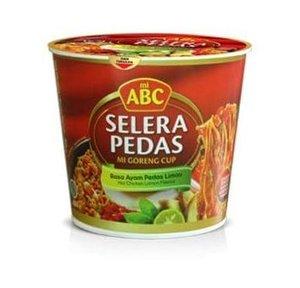 ABC Mie Goreng Cup Selera Pedas Rasa Ayam Pedas Limau