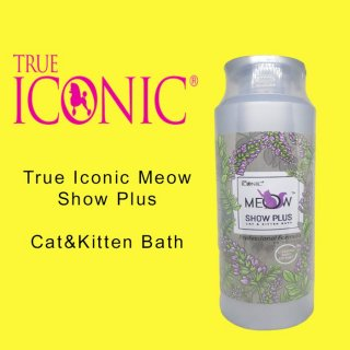True Iconic Meow Show Plus Cat & Kitten Bath