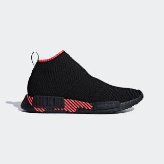 Adidas Men NMD CS1 Primeknit Shoes Core Black Red