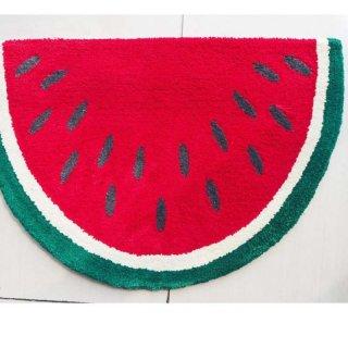 Keset Kaki Handtuft Halus Unik Watermelon