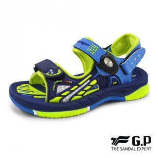 Sepatu Sandal Anak Laki-Laki Gold Pigeon GP Kids Axia Navy/Green G0706B-20