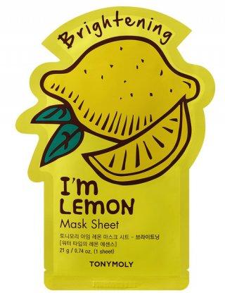 Tony Moly I'm Real Mask Sheet-Lemon Brightening