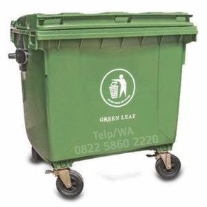 Tempat Sampah Besar 1100 Liter Plastik HDPE