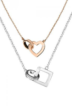 Soulmate Special Couple Pairings Diamond Necklace