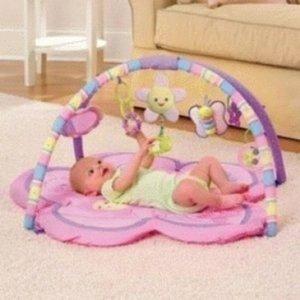 Playmate Matras Pliko Pretty Pink Baby Toys