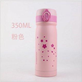 Tumbler Starbucks Lovely Pink Sakura Stainless Mini Coffee Mug