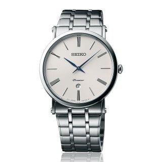 Seiko Premier Date Calendar 7N39 Men's Watch