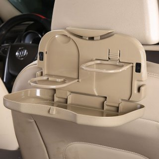 Car Multifunction Foldable Seat Back Meal Table