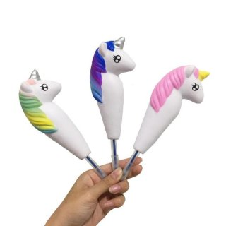 Squishy Pulpen Unicorn Pen Cap Holder
