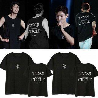 Kaos TVXQ Baju TVXQ T-Shirt TVXQ Circle Concert