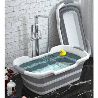 Bak Mandi Bayi Lipat Foldable Baby Bathtub