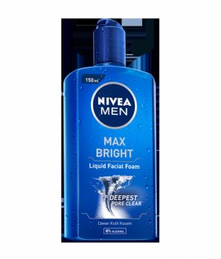 Nivea Men Max Bright Liquid Facial Foam Sabun Muka Cair