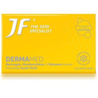 (Sabun Sulfur) JF Cleanser Bar Derma