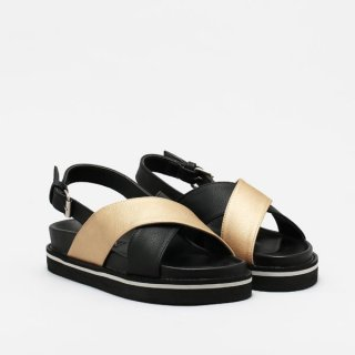 Sander Black Gold Platform by Adorable Projects