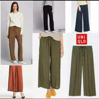 UNIQLO Long Relaco Kulot Pants