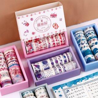 Mohamm Washi Masking Tape Set Star Sky Gift Creative Scrapbooking School Supplies