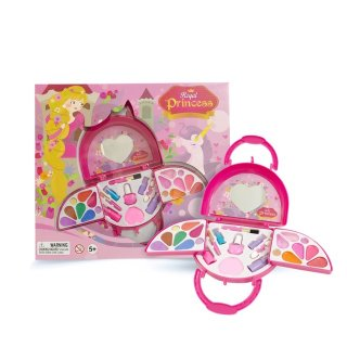 Royal Princess Toy Cosmetic Mainan Makeup Set Anak Perempuan Rapunzel