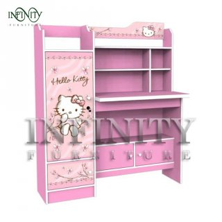 Meja Belajar Karakter Hello Kitty Magnolia SD KT 12112 ML