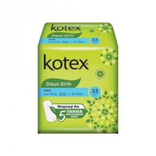 Kotex Soft & Smooth Maxi Non Wing Daun Sirih