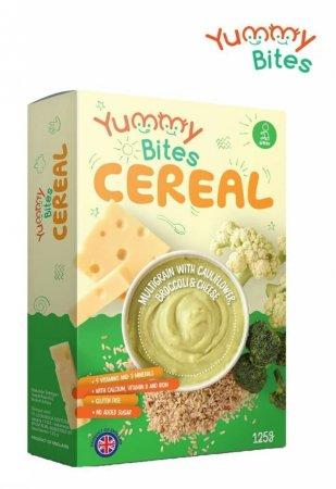 Yummy Bites Cereal Multigrain Cauliflower Broccoli Cheese