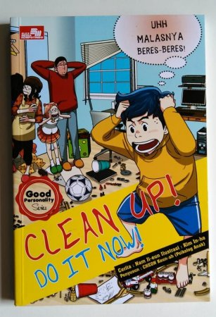 Komik Pendidikan Karakter Anak Clean Up Do It Now