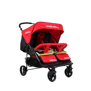 Seebaby T22 Comfy Fashionable Twins Baby Stroller