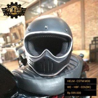 Helm Full Face Helm Custom Cakil M30