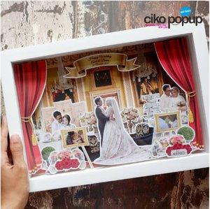 PopUp Frame Kado Pernikahan