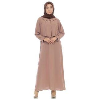 Dress Muslim Gamis Wanita Zahra Signature Long Dress Natasha