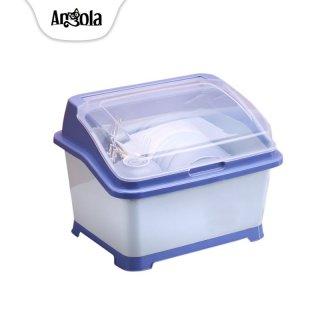 Angola Rak Piring Plastik Dengan Tutup C28