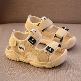 Sepatu Sandal Anak Laki-laki dengan Dasar Lembut Anti Tendang untuk Pantai