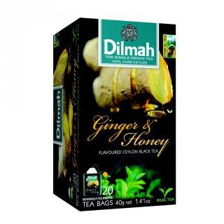 Dilmah Ginger & Honey Flavoured Ceylon Black Tea