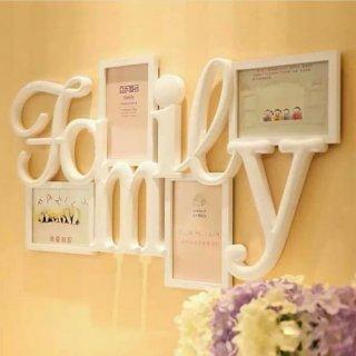 Big Family Photo Frame Bingkai Foto Besar Pigura Dinding 6R Keluarga