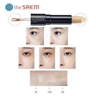 The Saem - The Saem Cover Perfection Ideal Concealer Duo