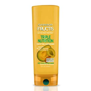 Garnier Fructis Triple Nutrition Conditioner, Dry to Very Dry Hair