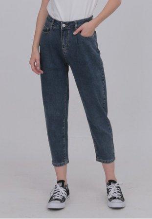 ODIVA Helen Baggy Jeans Navy