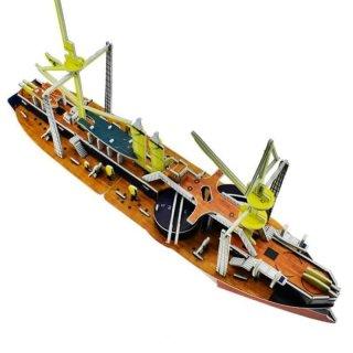Puzzle 3 Dimensi Classic Ship