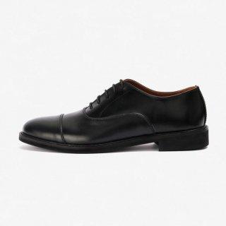 Sepatu Pantofel Kulit Oxford Priere Footwear Hitam