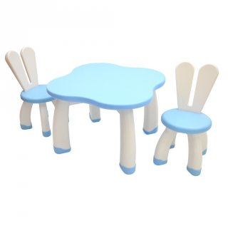 L'abeille Bunny Table & Chair Set